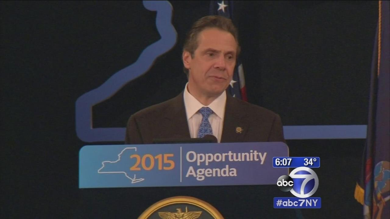 Governor Cuomo delivers New Yorks State of the State address