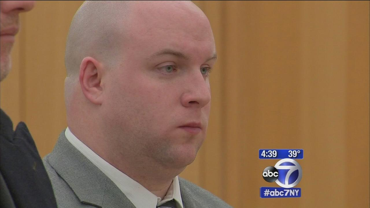 NYPD Officer Cronin in court facing attempted murder charges