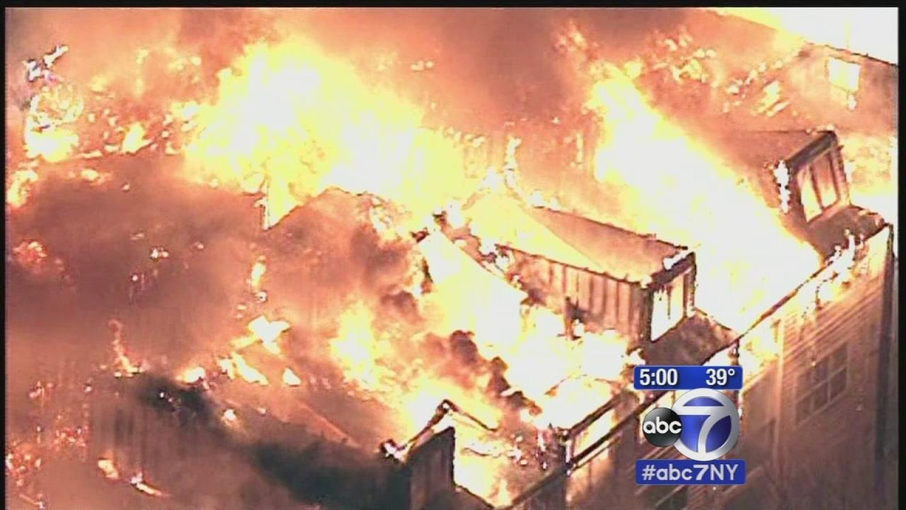 Investigation continues into what sparked Edgewater apartment complex fire