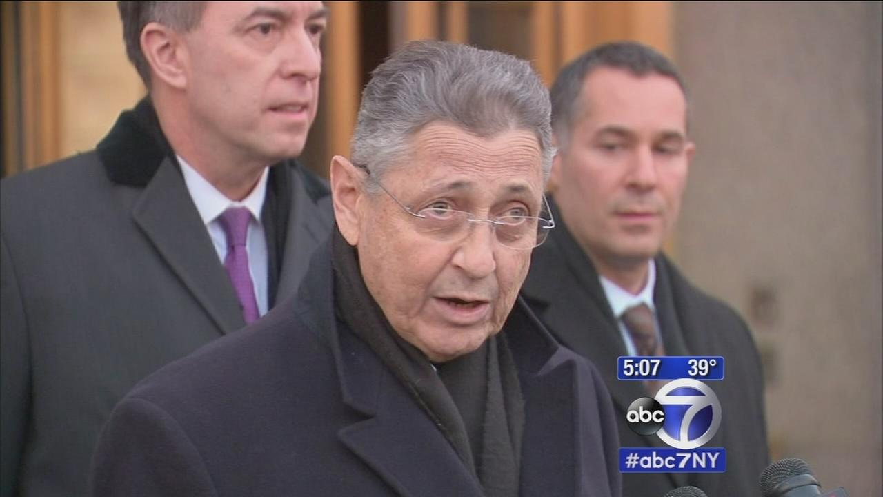 Assembly Speaker Sheldon Silver reacts to arrest