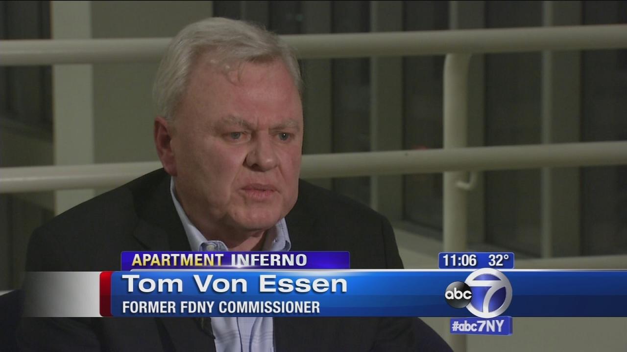 Former FDNY Commissioner Tom Von Essen on Edgewater fire