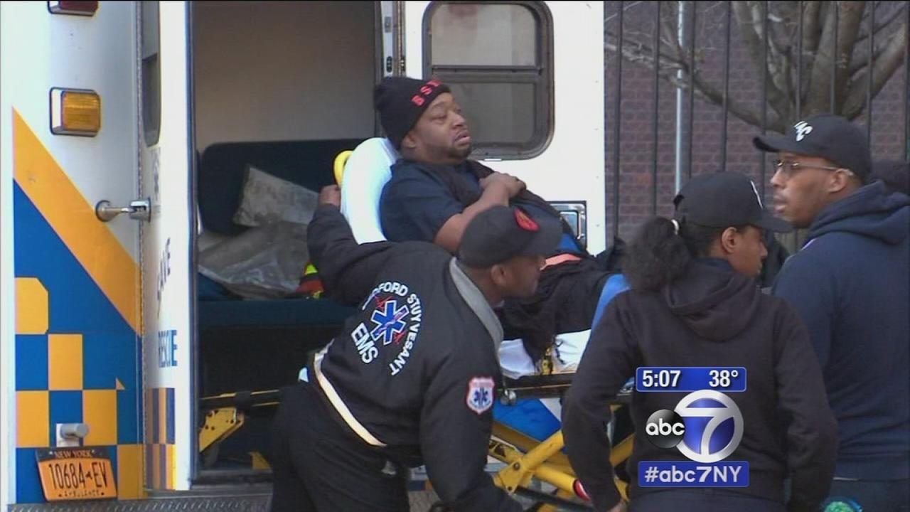 Vounteer EMT stabbed in Brooklyn