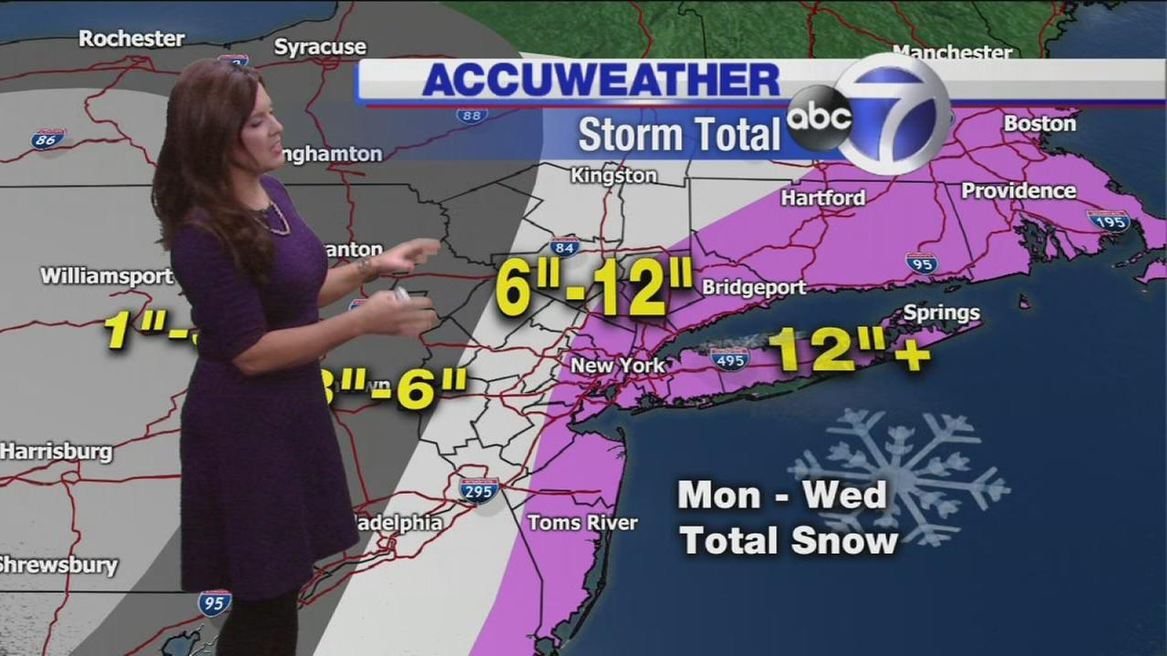 ACCUWEATHER UPDATE: Major snowstorm