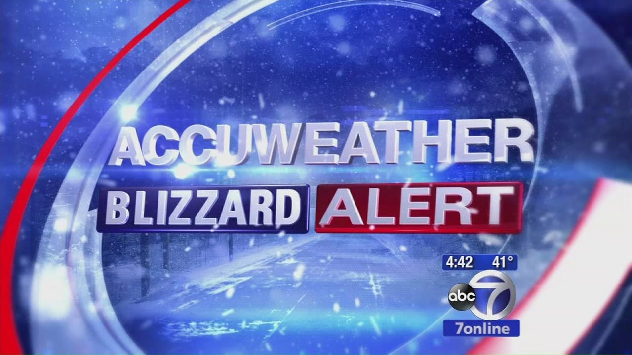 AccuWeather Update: Blizzard Warning isued for NYC area