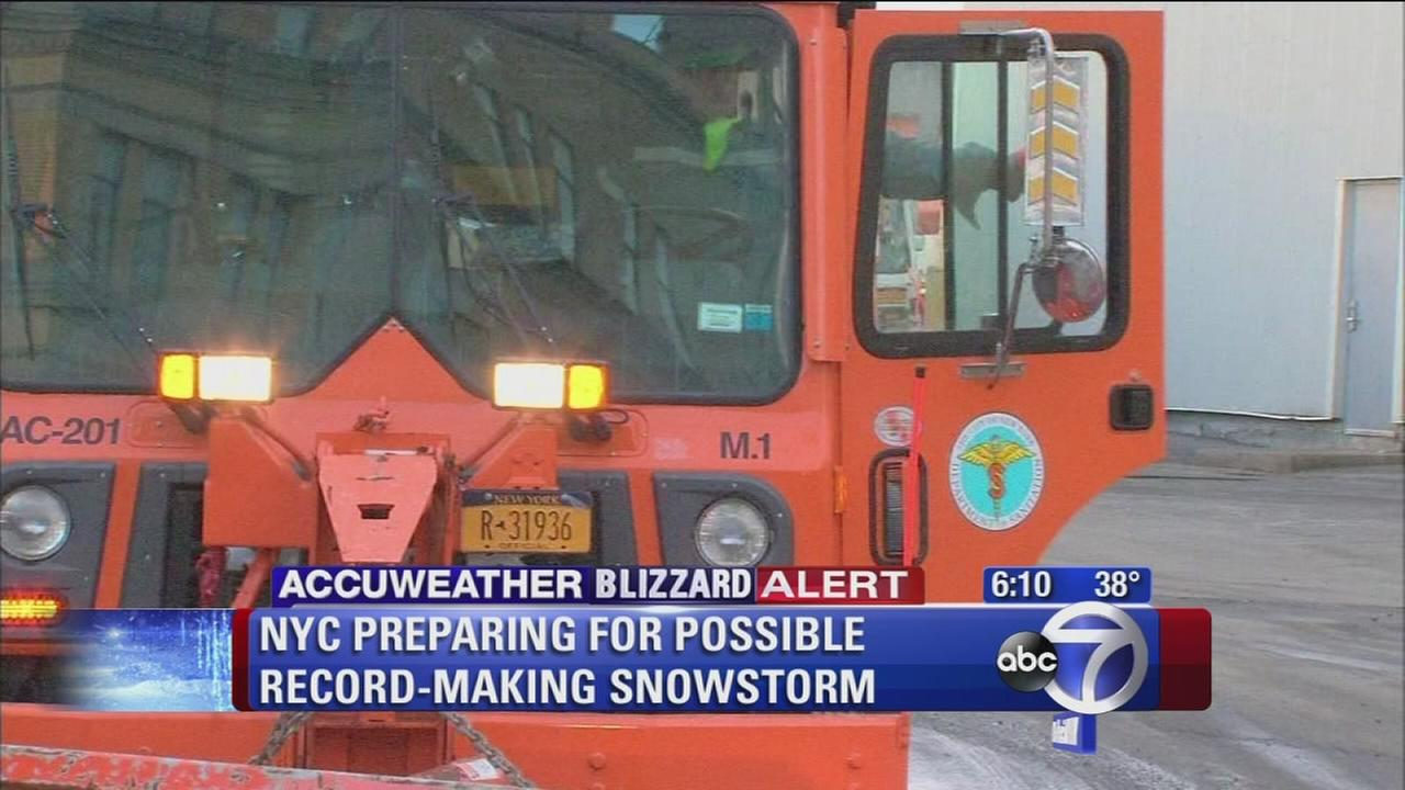 Unprecedented snowstorm to hit New York area