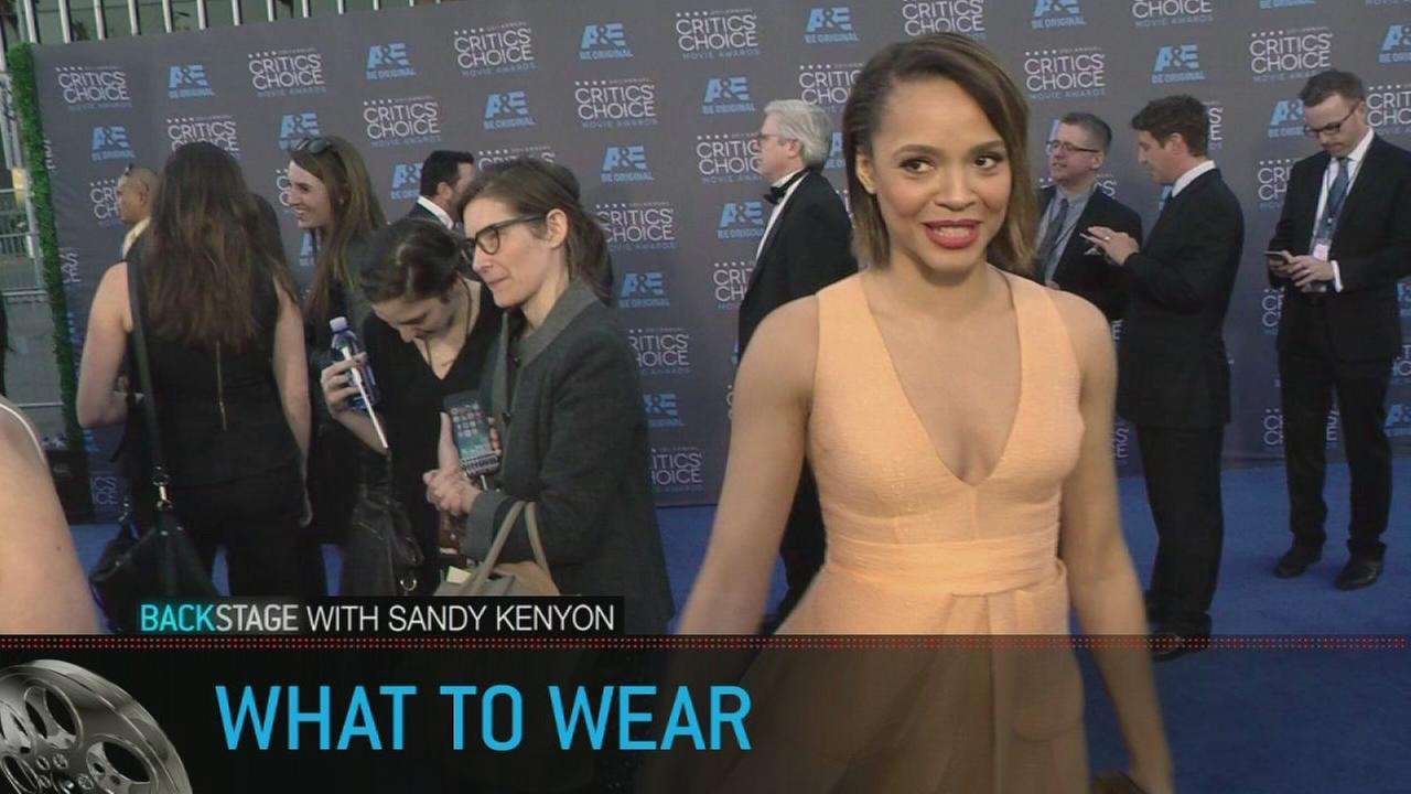 Backstage with Sandy Kenyon: What to wear on the red carpet