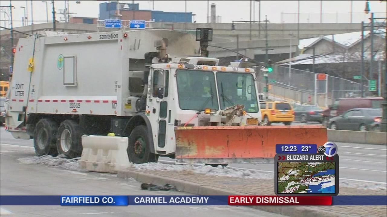 NYC gearing up for blizzard