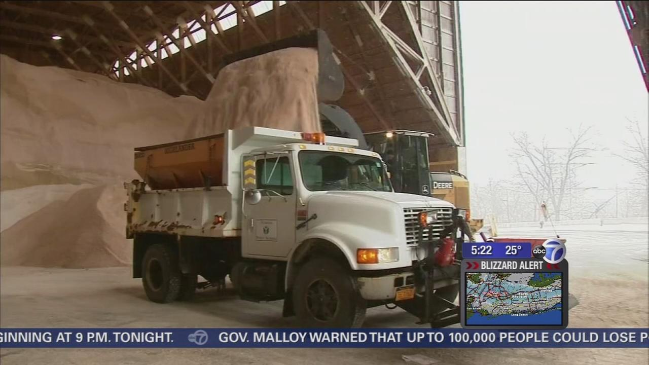 Road crews ready to battle snow storm in Westchester County