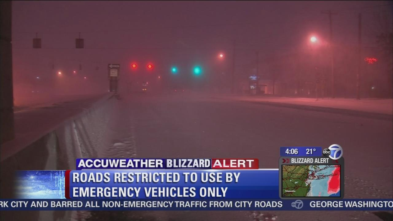 Suffolk County hammered by blizzard