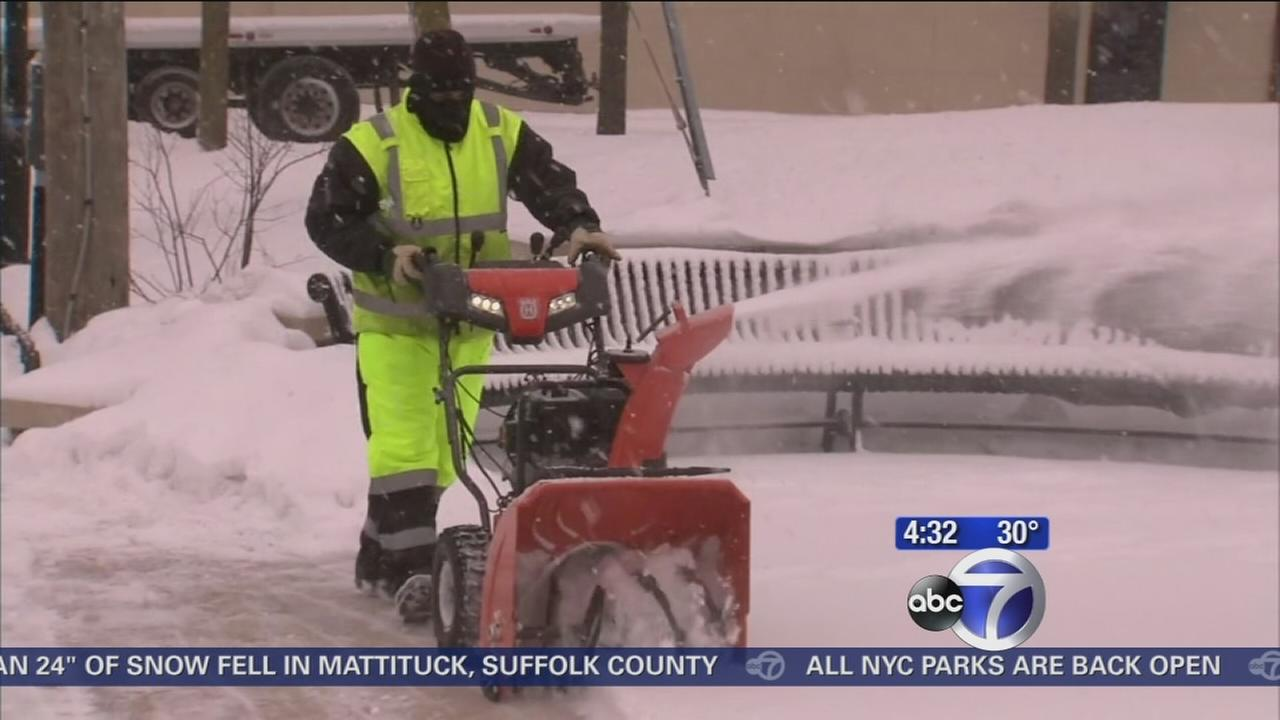 Westchester residents digging out from snow storm