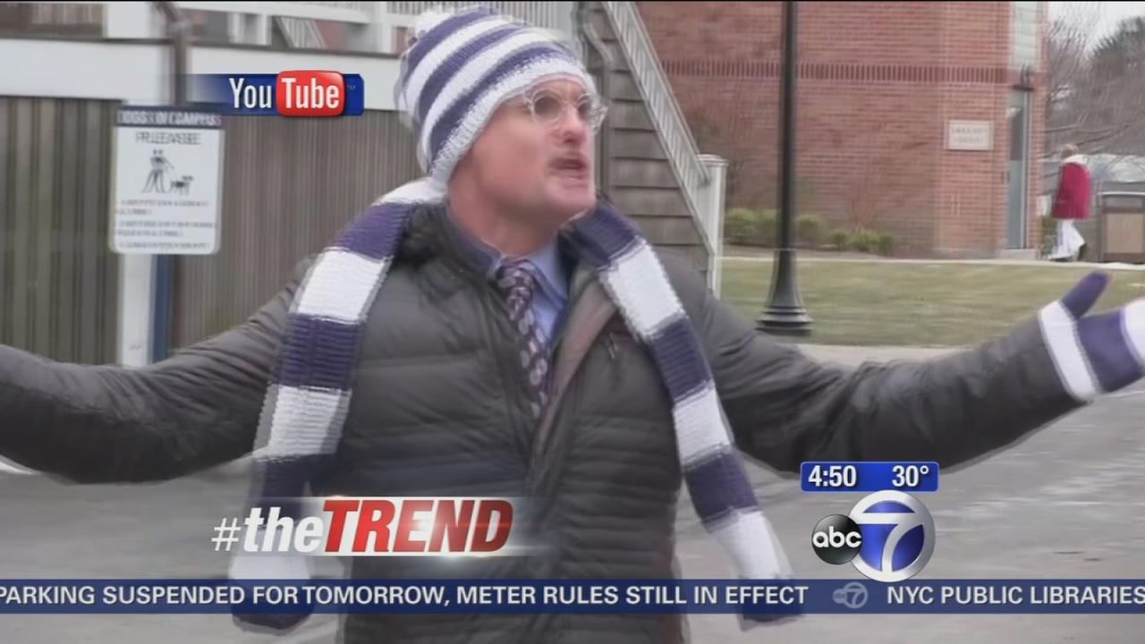 The Trend: Frozen parody about snow days