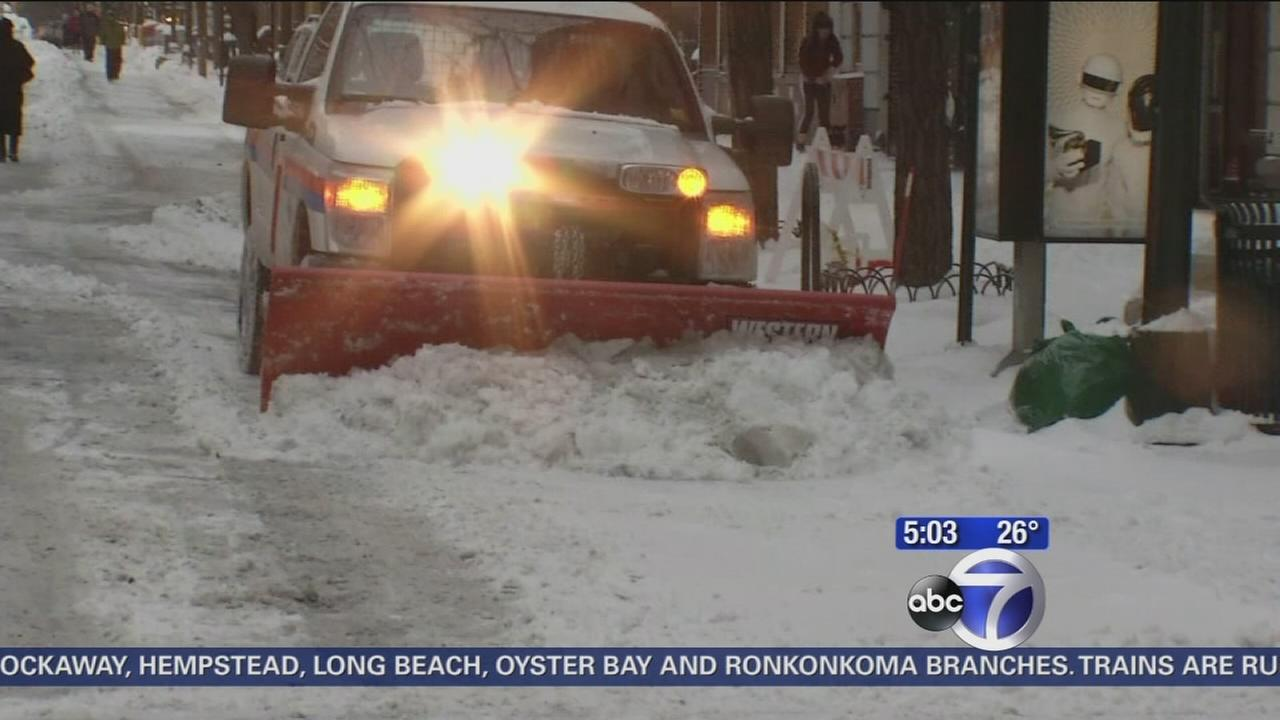 Most city residents pleased with snow removal