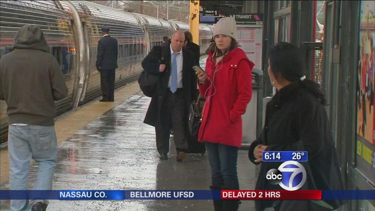 New Jersey Transit getting back on track after snow storm