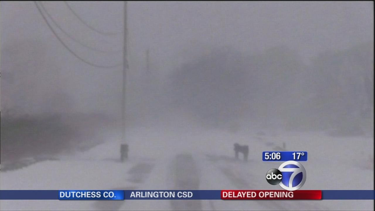 Blizzard paralyzes parts of Massachusetts