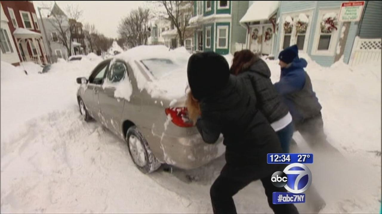 New England still digging out after blizzard