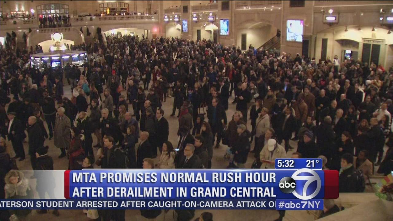 MTA promises normal morning rush hour commute after Metro North train derails