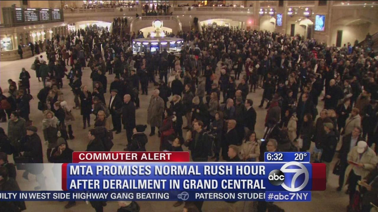 MTA promises normal rush hour commute after Metro North derailment