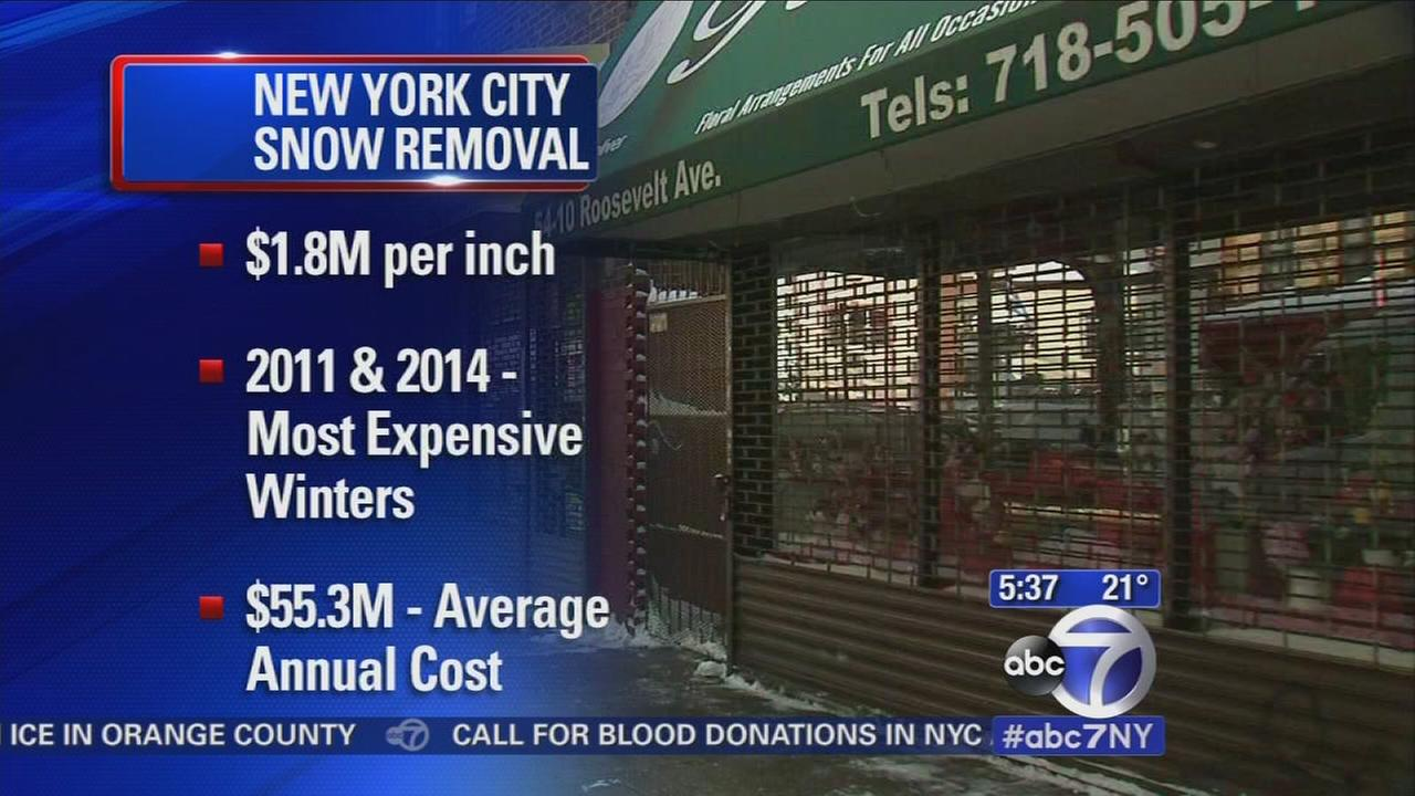 NYC snow removal