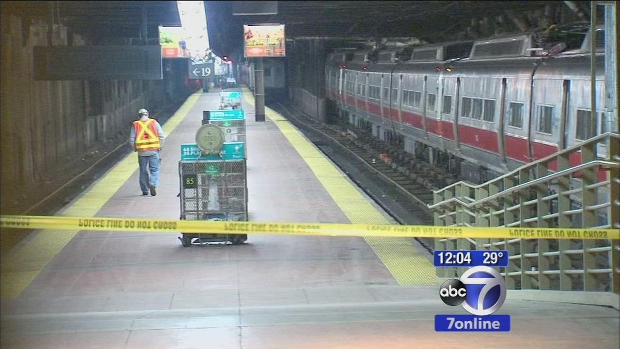 Metro-North back on track after minor derailment at Grand Central