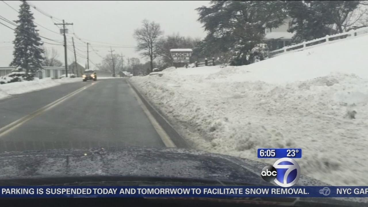 Driving rough on New Jersey roads