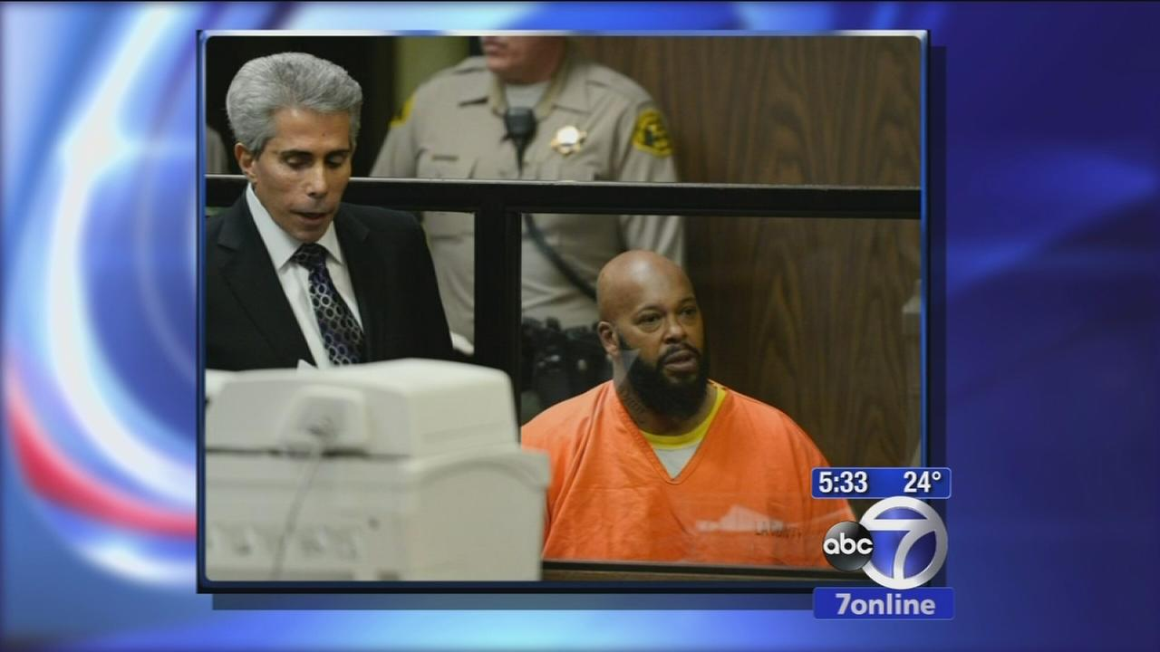 Suge Knight hospitalized after court appearance