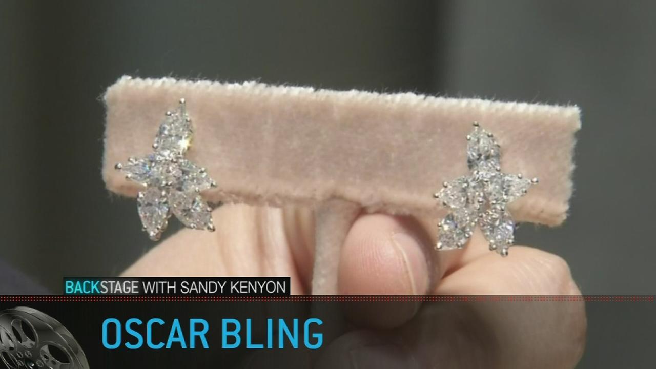 Backstage with Sandy Kenyon: Oscar bling