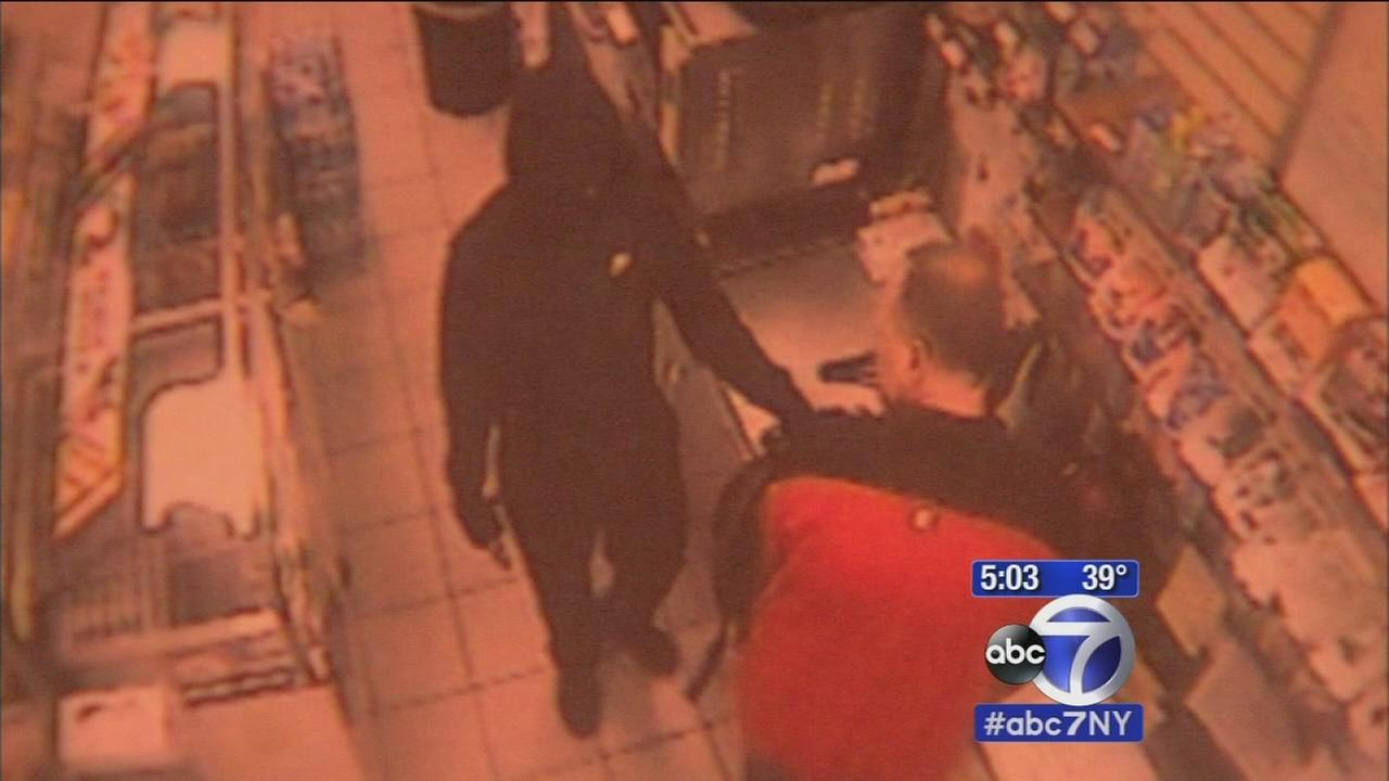 Suspect sought in LI gas station robberies
