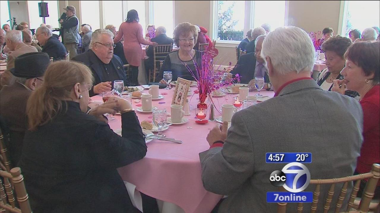 Married couples renew vowes for Valentines Day