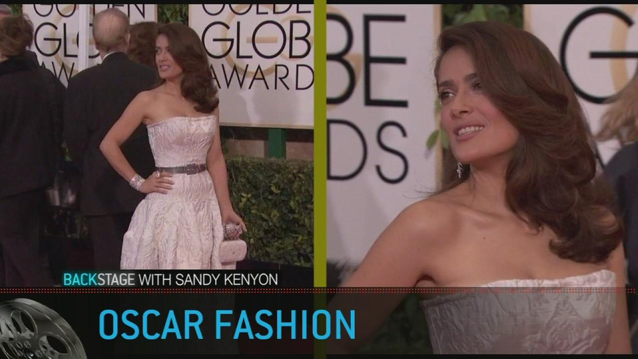 Backstage with Sandy Kenyon: Oscar Fashion