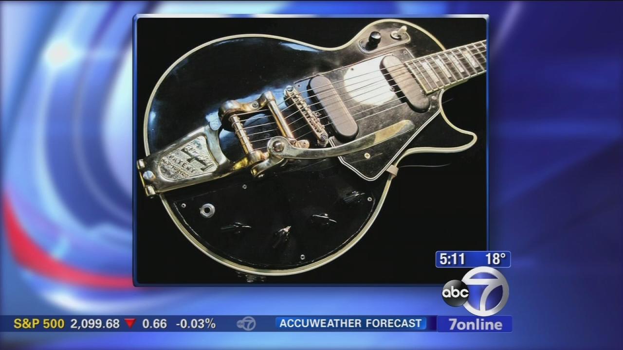 Les Paul guitar up for auction
