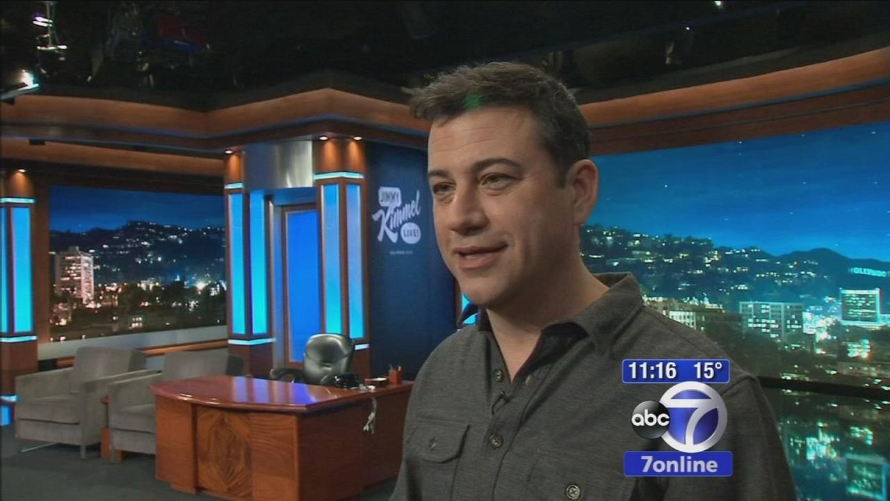 Jimmy Kimmel prepares for After the Oscars Special