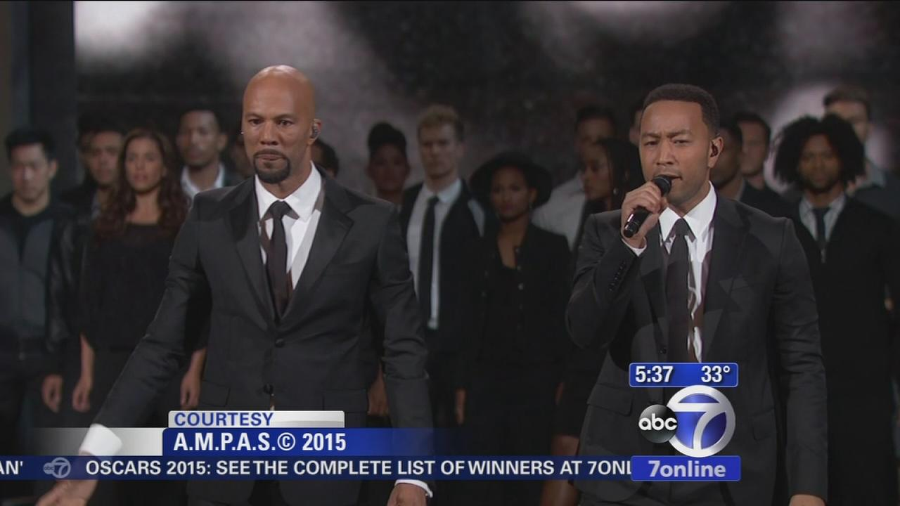 Common, John Legend provide Oscars emotion