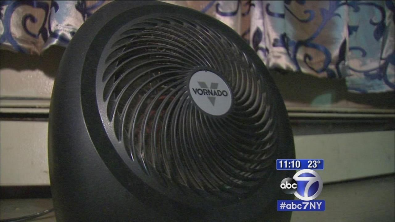 Residents forced to use space heaters due to no heat in building