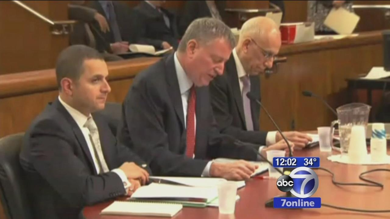 Mayor de Blasio asks for permanent control of schools