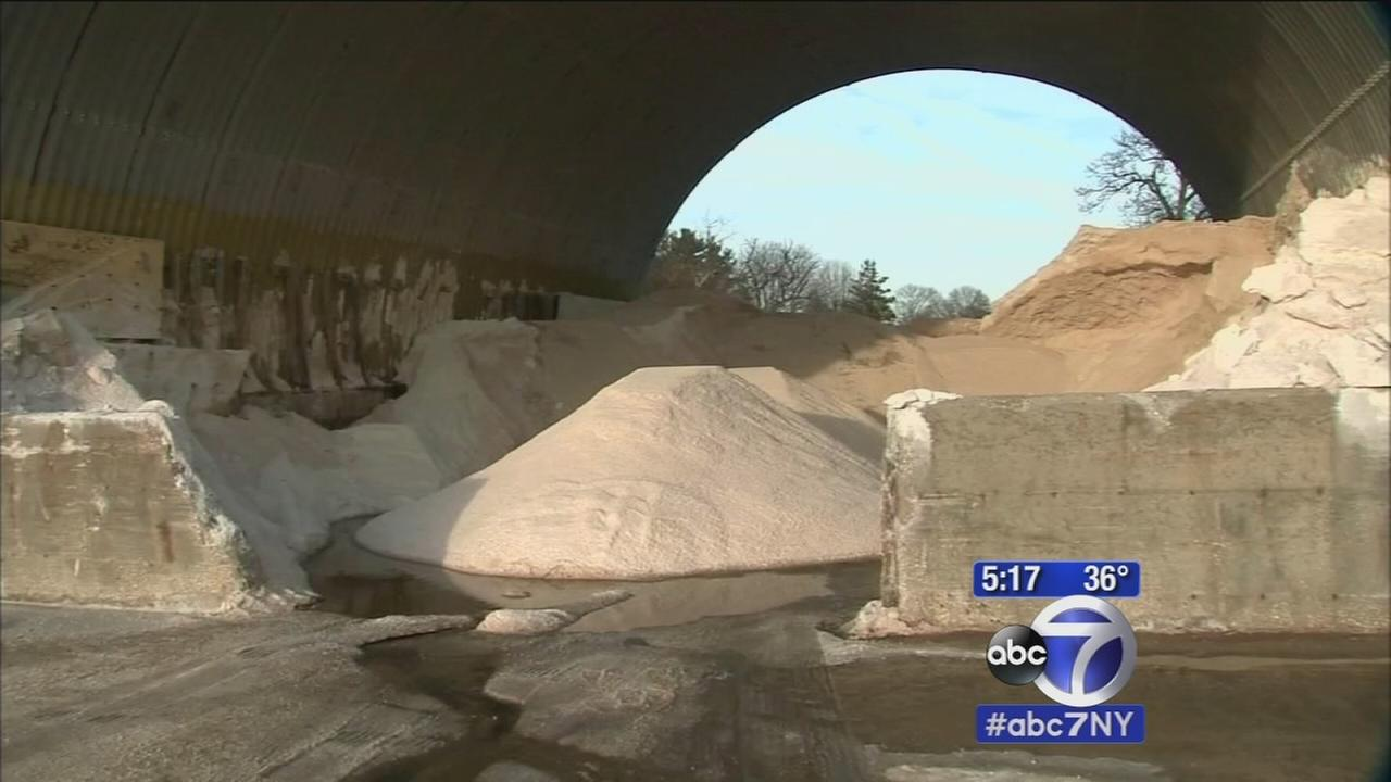 Salt companies struggle to keep up with storms