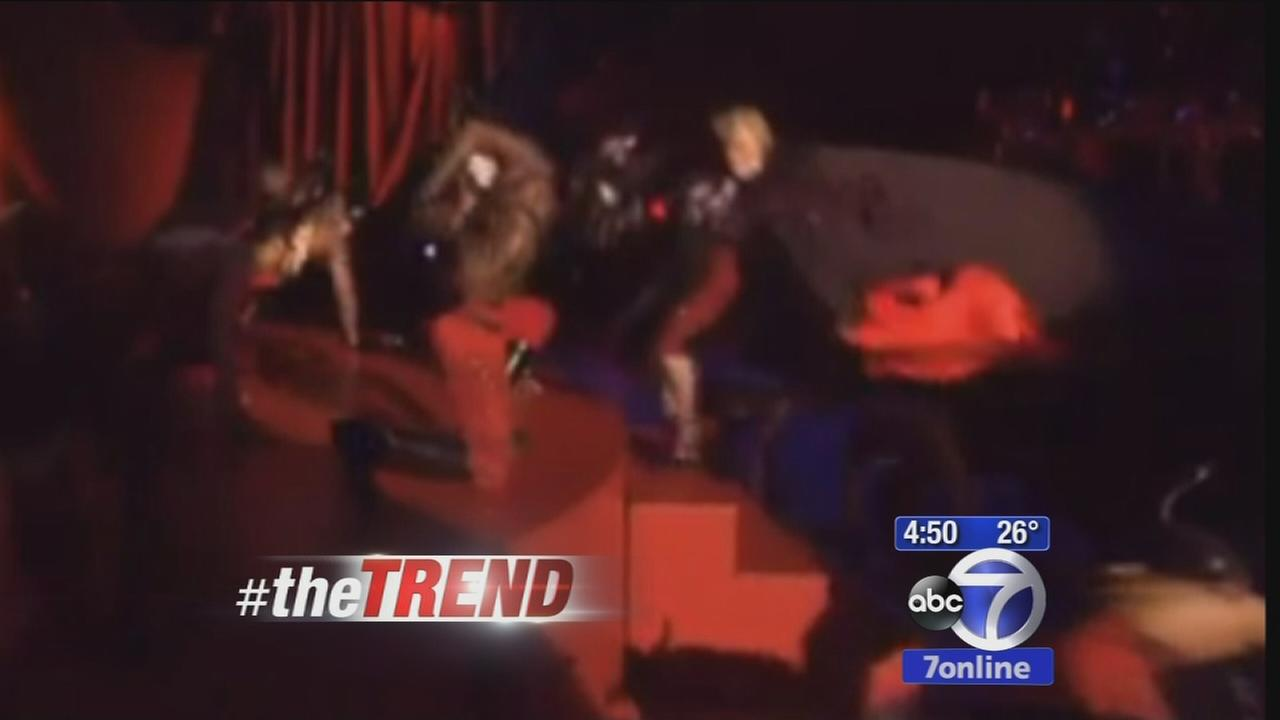 The Trend: Madonna takes tumble