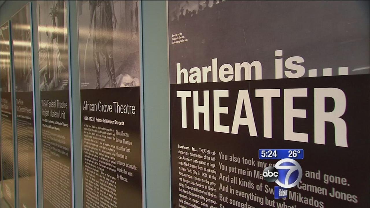 Exhibit chronicles African-Americans in NYC theater