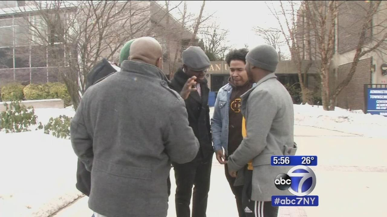 New Jersey frat members helping homeless