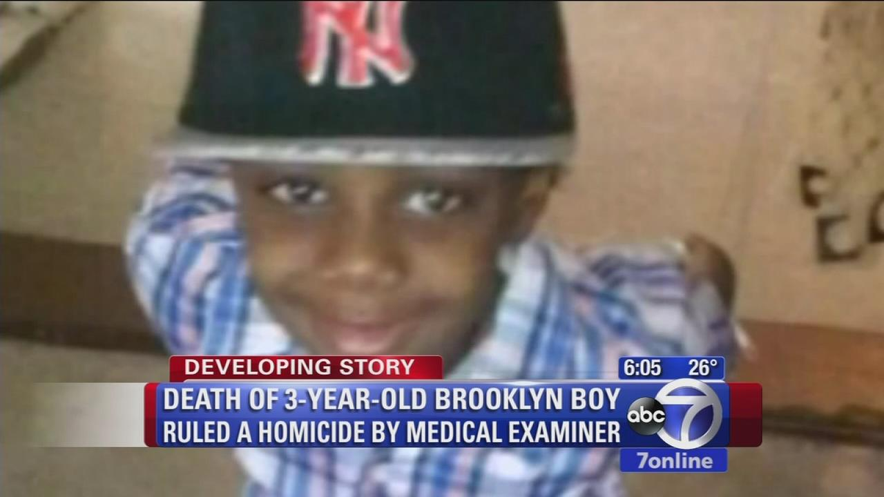 Death of young boy ruled a homicide
