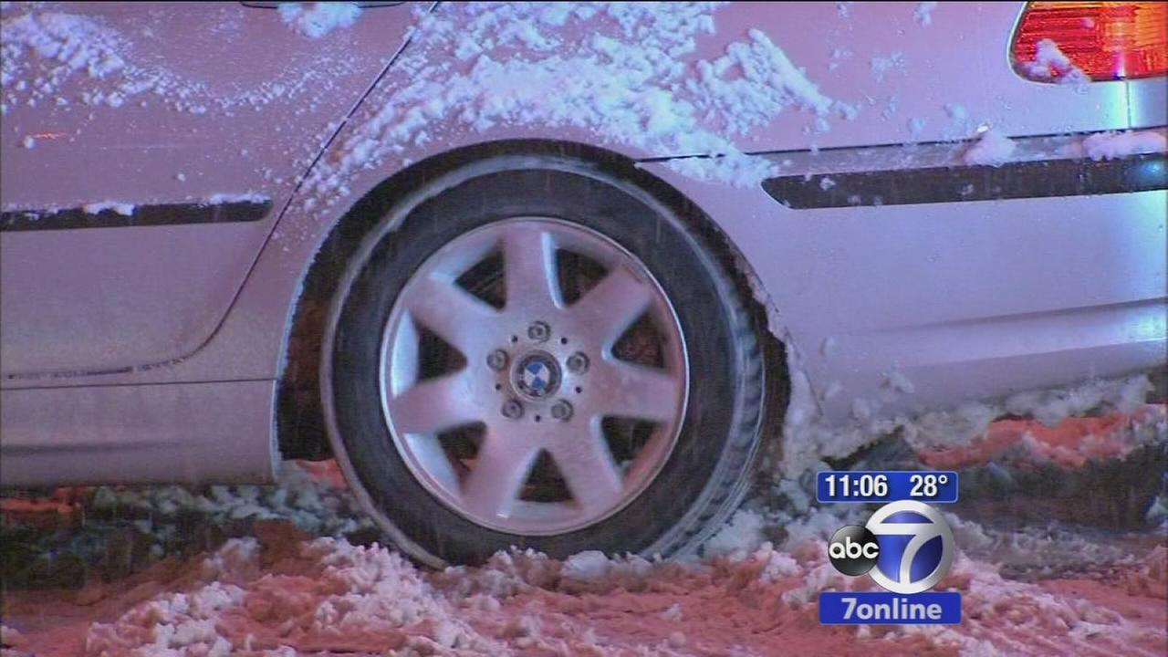 NJ Drivers battle nasty driving conditions