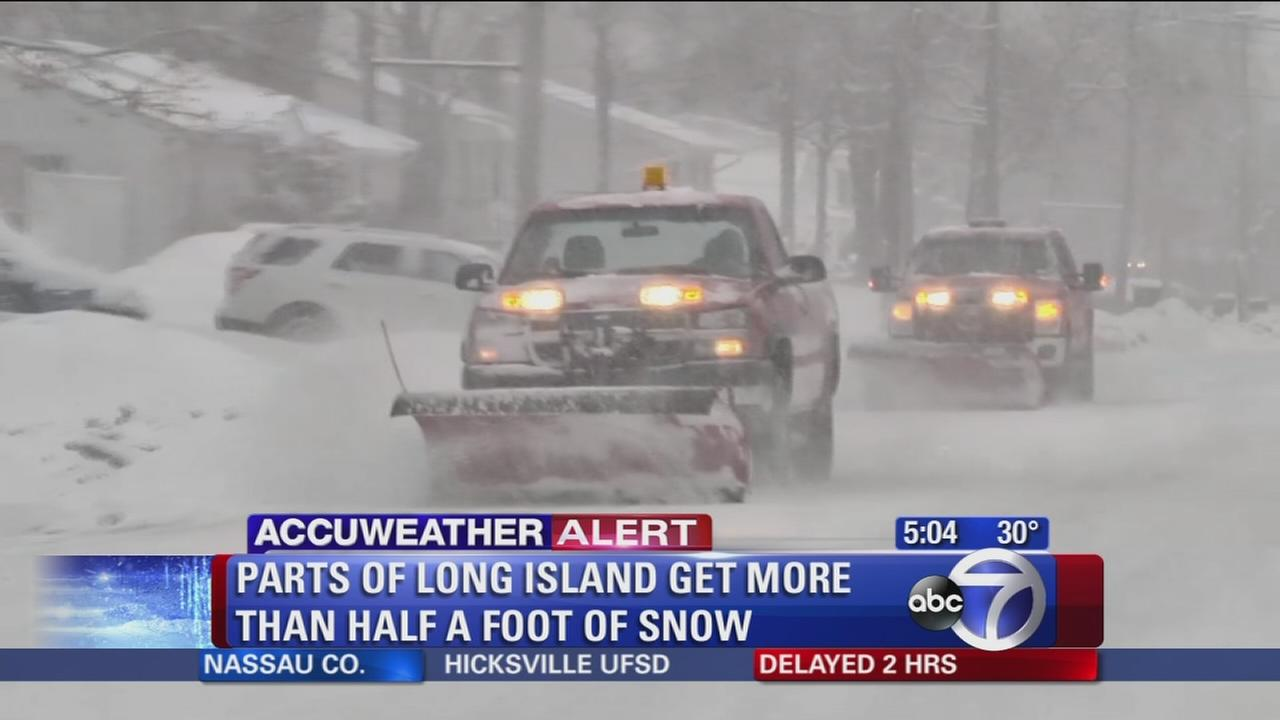 Long Island digs out from latest storm