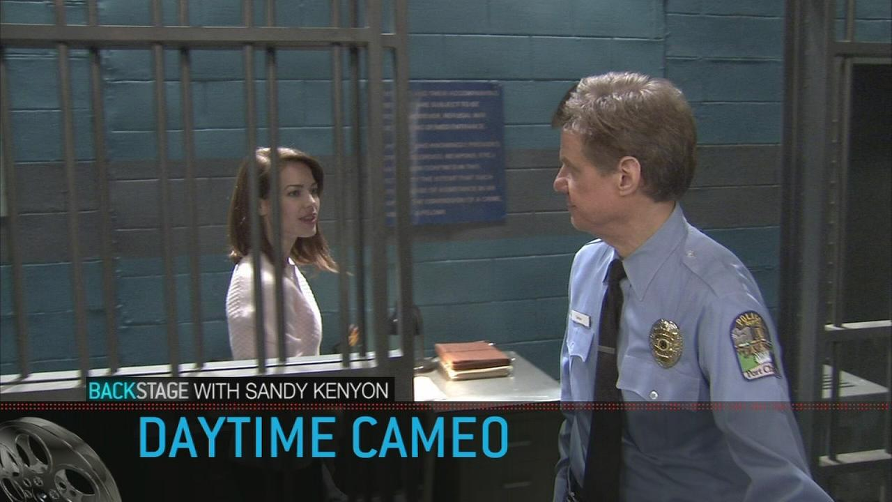 Backstage with Sandy Kenyon: On the set with General Hospital