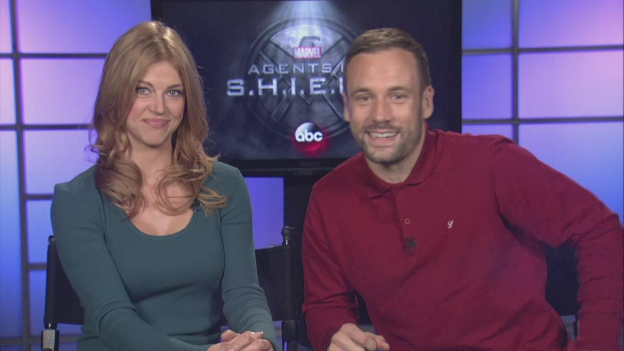 Agents of SHIELD Stars talk about shows return