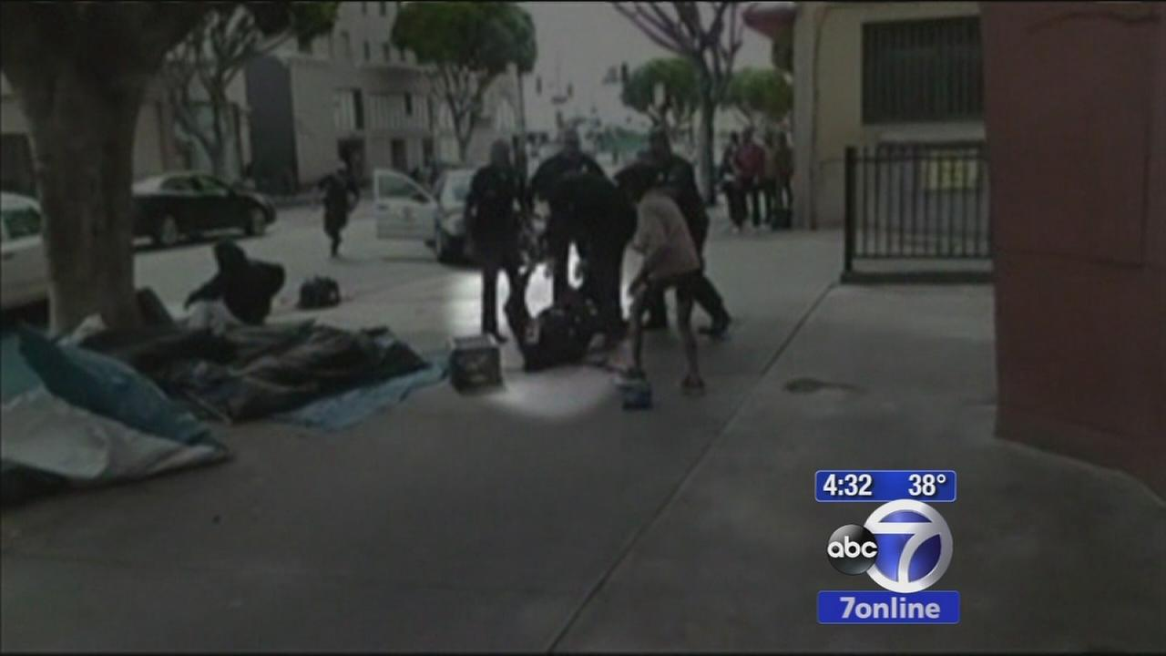Deadly shooting by Los Angeles police caught on camera