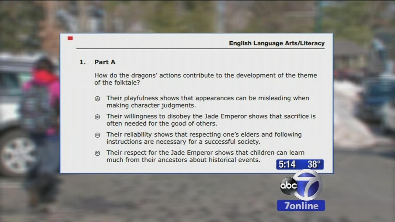 Controversial testing underway in New Jersey schools