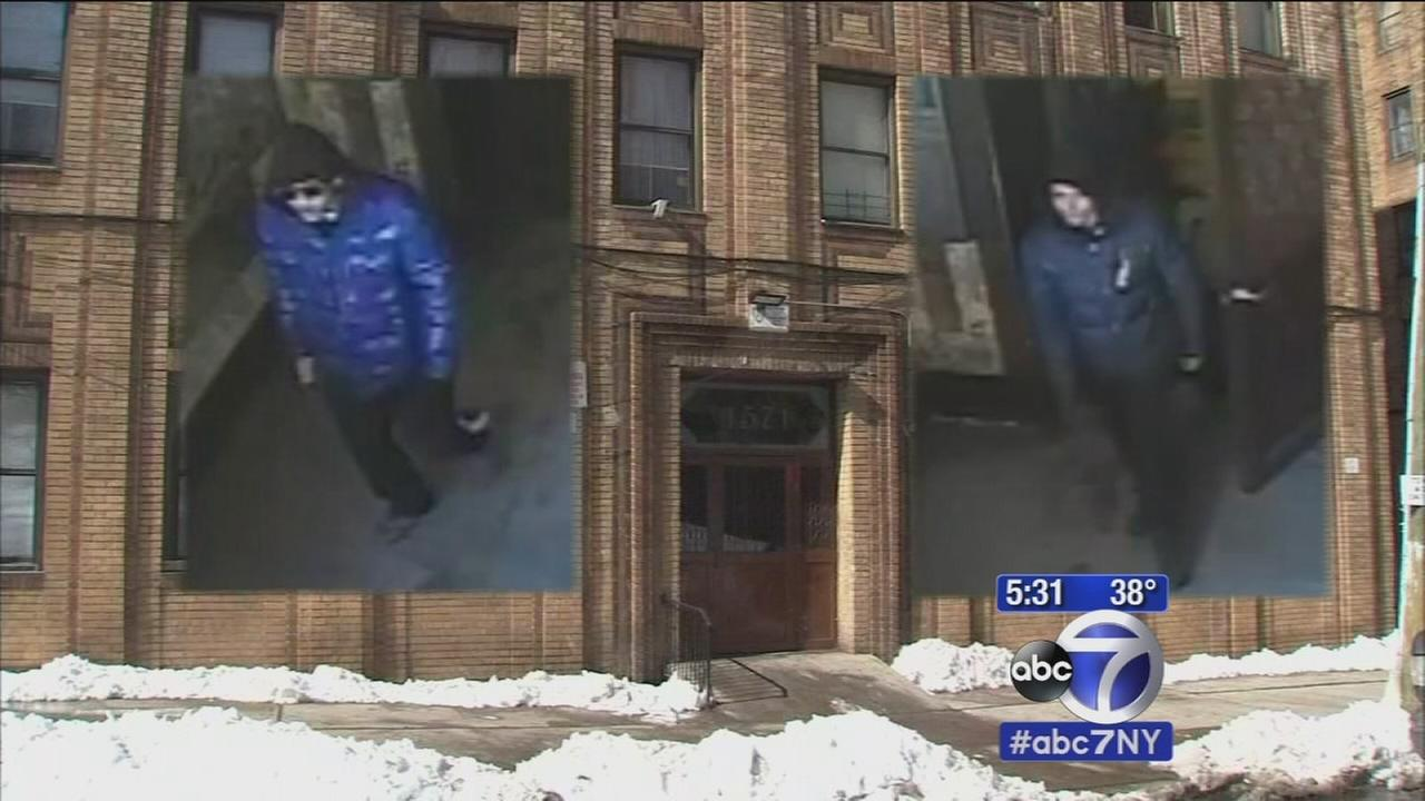 NYPD searching for Bronx fire escape burglars