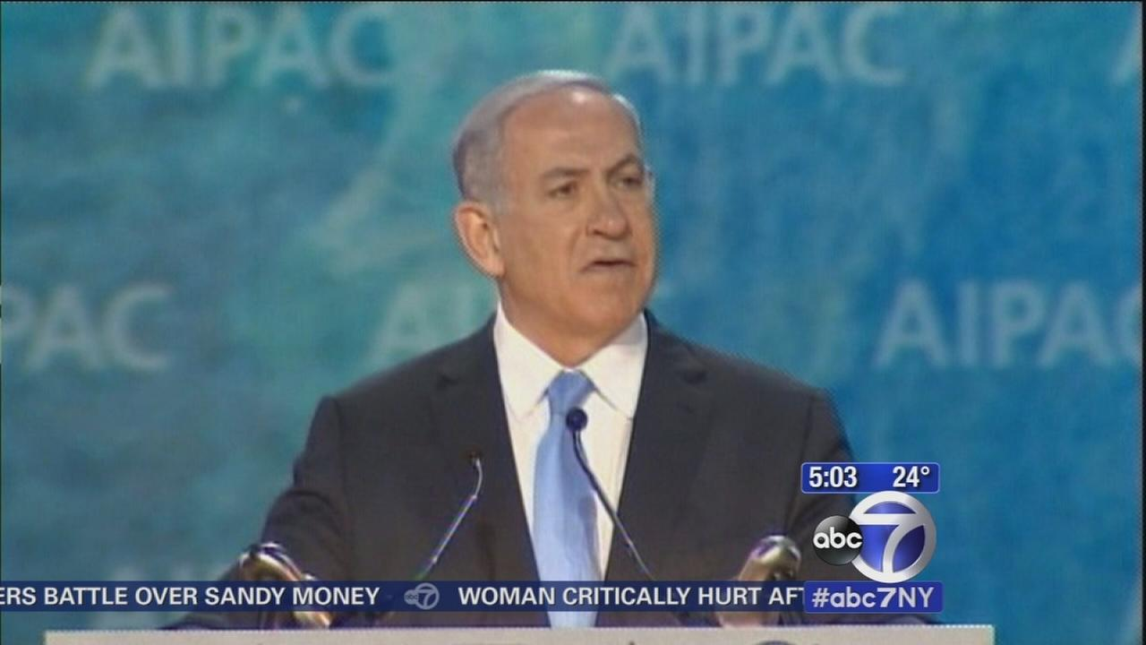 March planned in NYC for Netanyahu speech
