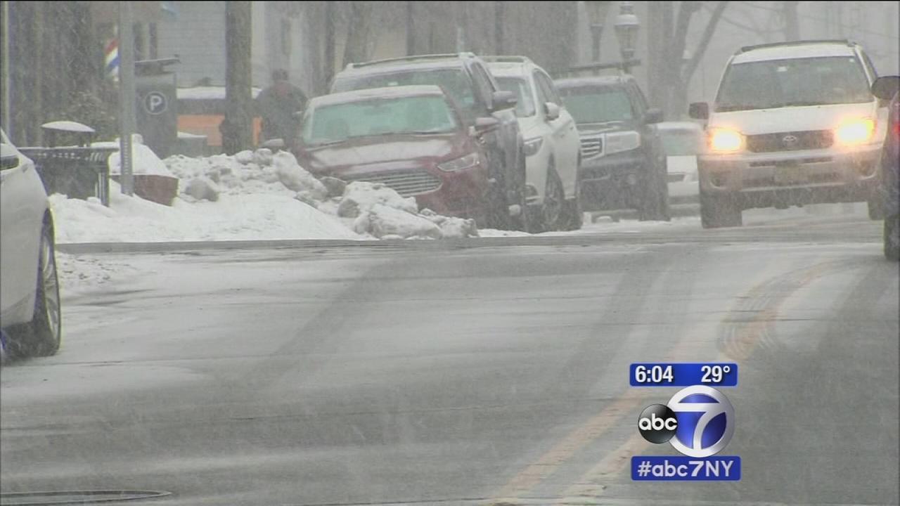 NJ hit by latest winter storm