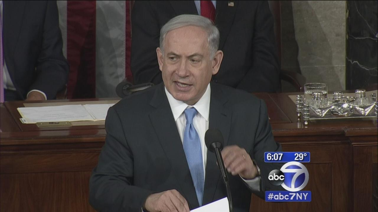 Netanyahu gives controversial speech to Congress