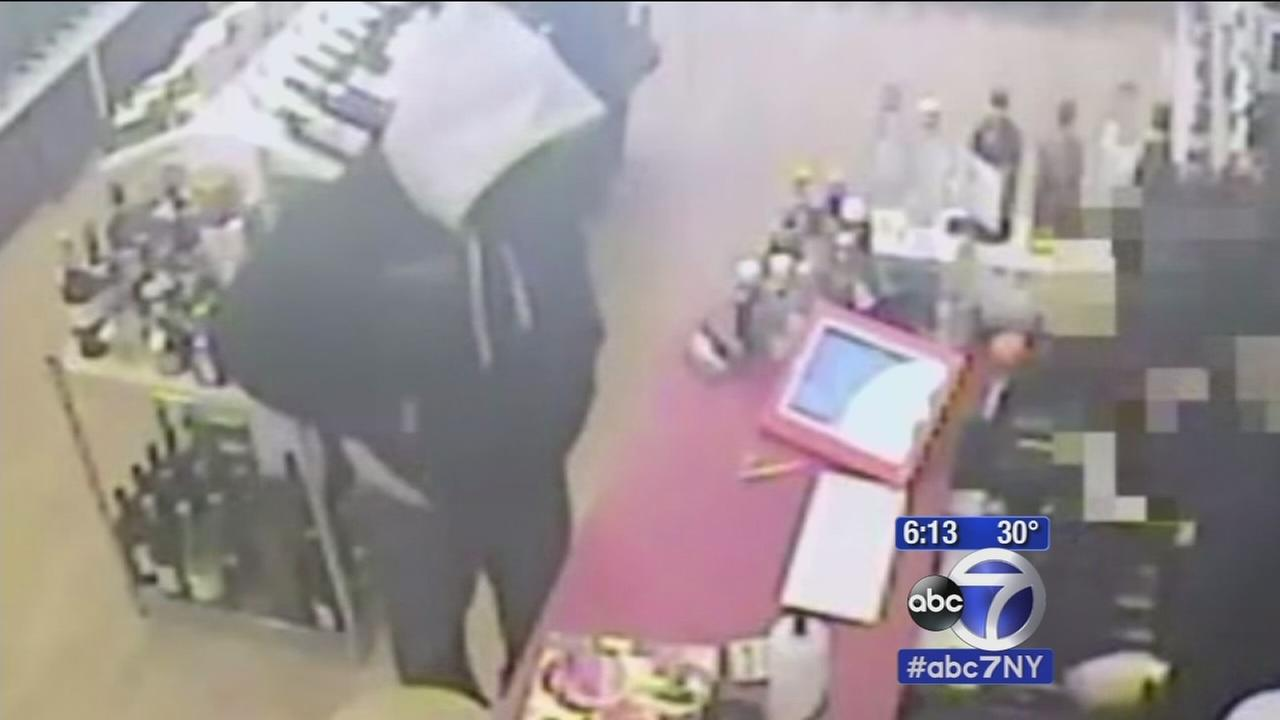 Armed robbery spree targets SoHo boutiques